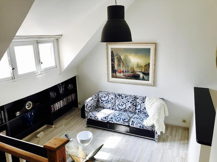 Appartment 75m2 in a lovely house in Brussels