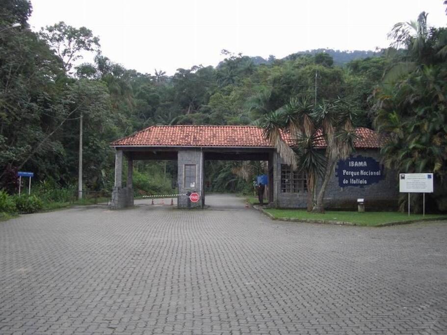 Entrada do Parque Nacional do Itatiaia
