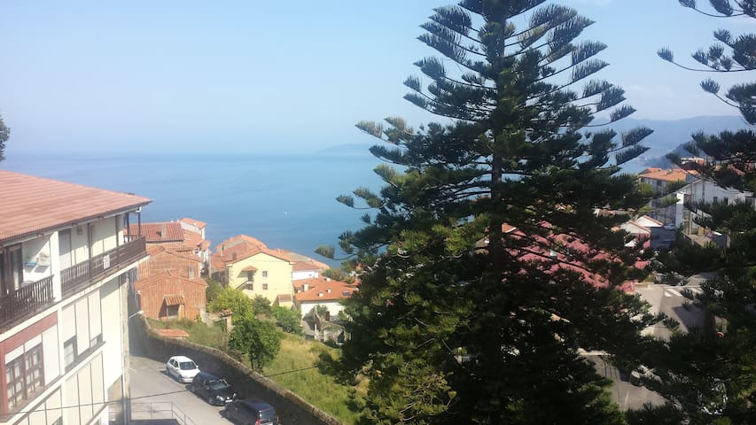 appartment with view over the sea - Lastres - Wohnung