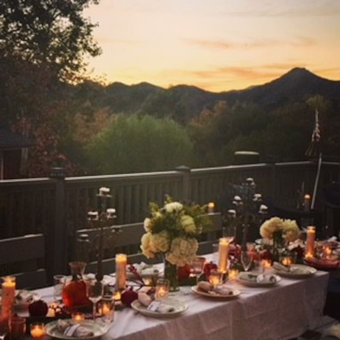 "Enjoy dreamy sunset outdoor dinners and hear yourself say out loud, ""Is this real life?"""