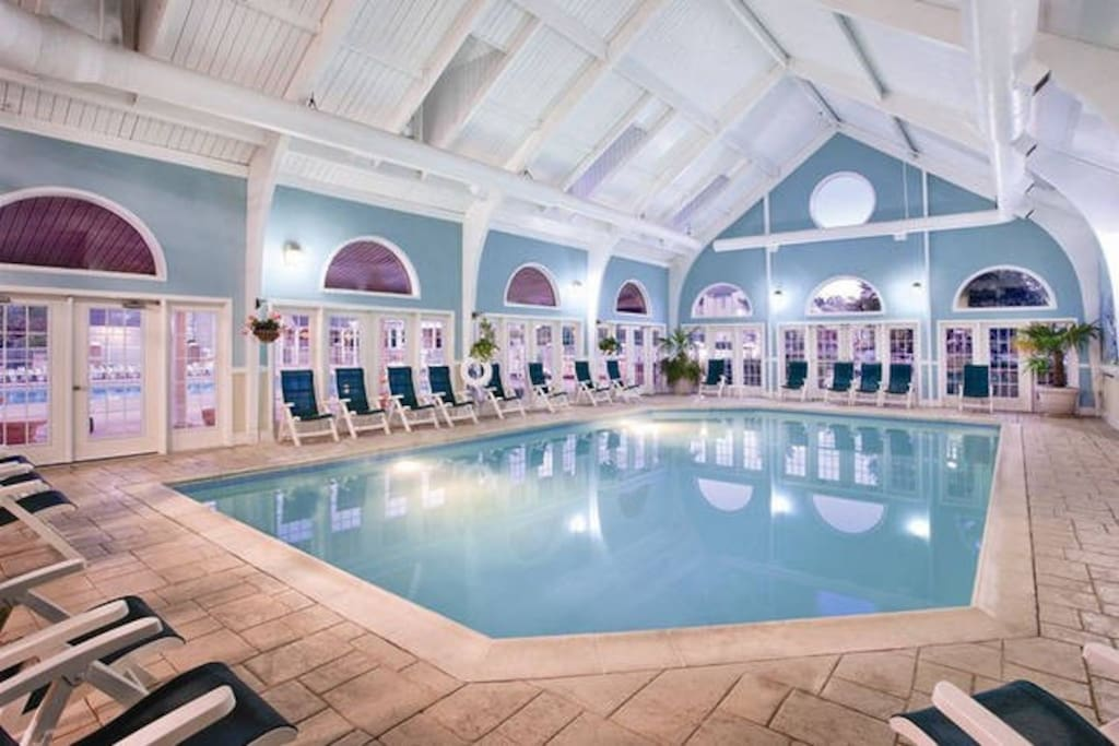 Indoor pool to enjoy during cooler months