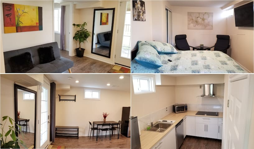 Bright private guest suite separate ent. SE Barrie