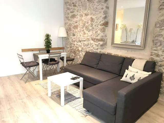 Cosy & modern apartment-old town, Antibes - Antibes - Flat