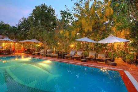 Tranquil oasis near Angkor Wat - Krong Siem Reap - 公寓