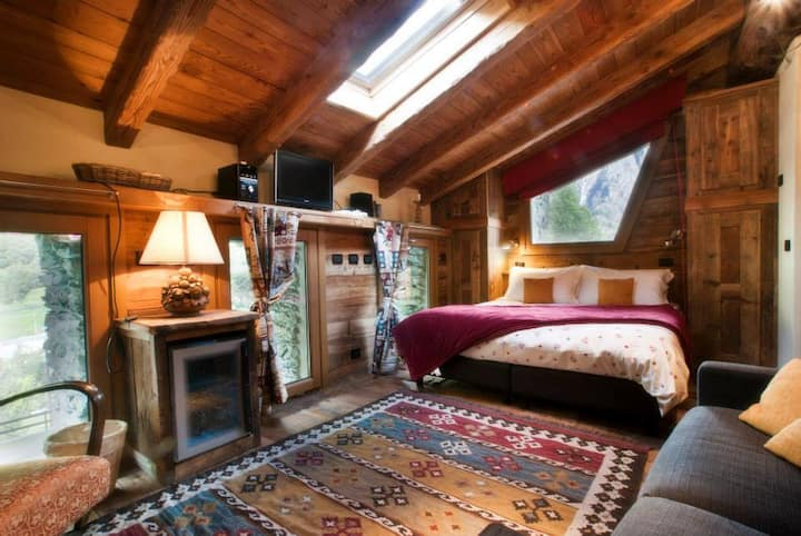 Chalet di montagna con sauna privata