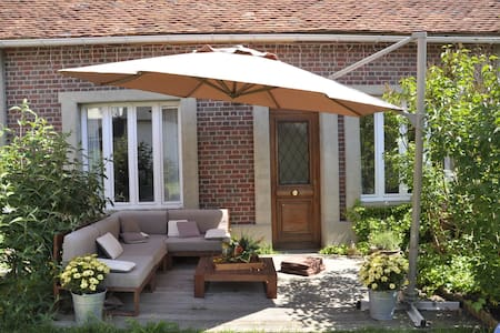 Maison d'amis avec terrasse - Abbeville-Saint-Lucien - Casa