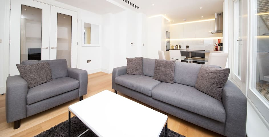 Penthouse with Shard View in Central London - London - Flat