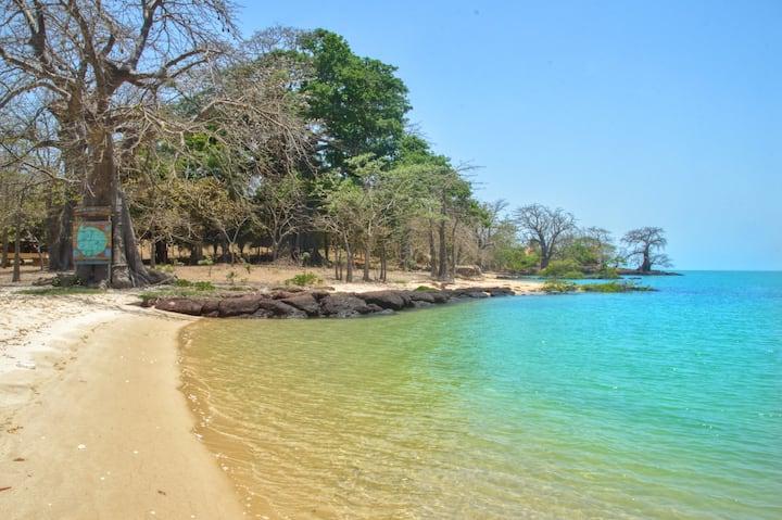 Écolodge, archipel des Bijagos