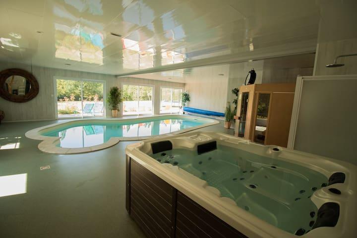 Gîte 4 épis avec piscine couverte à 1H30 de Paris