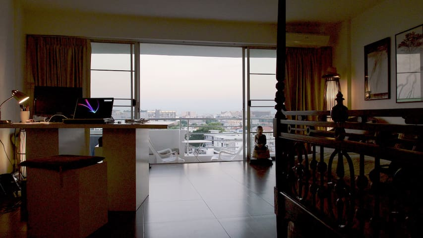 Good view - Condo - with golfgear - Chiang Mai - Apartament