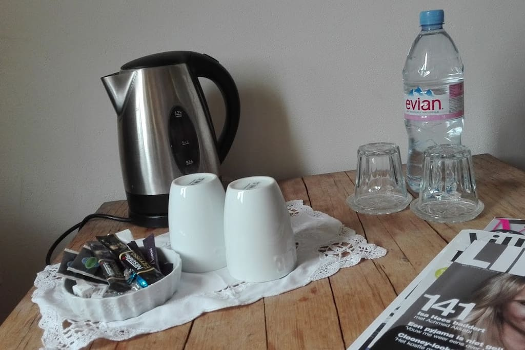 Koffie en thee faciliteit - coffee and tea making facilities