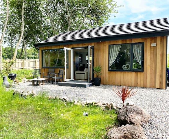 Brand new luxury lodge on the NC500