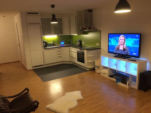Komplette moderne Wohnung mit vielen Extras - Heilbronn - Departamento