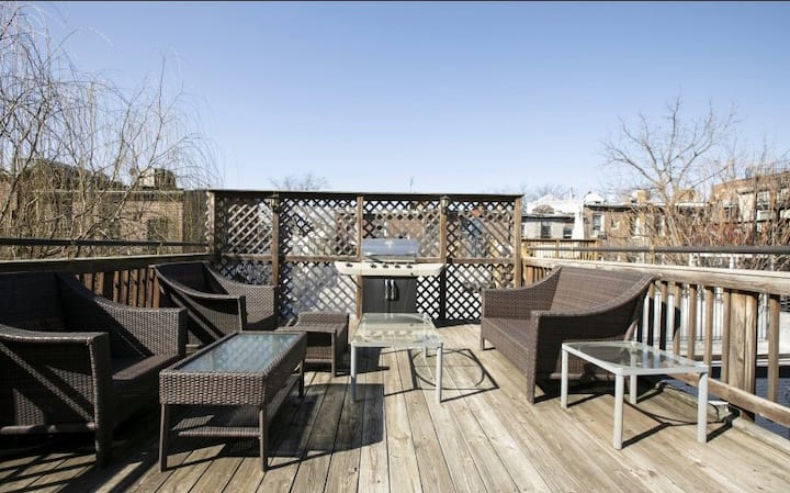 ⭐️ 2-Story Condo w/Private Rooftop in the ❤️ of DC!