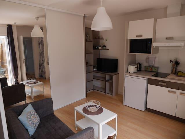 Studio agréable centre ville de La Rochelle