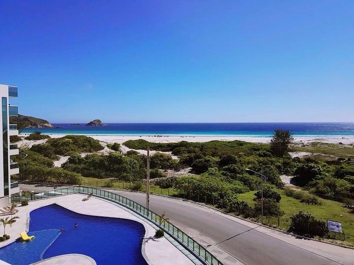 Ótimo apartamento de frente ao Mar Arraial do Cabo