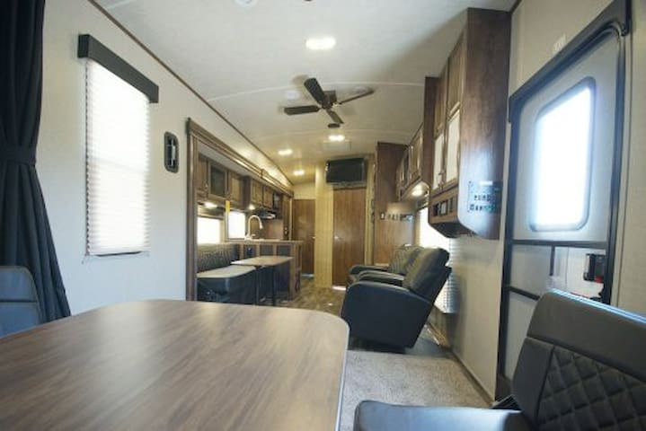Luxury living parked close to your event