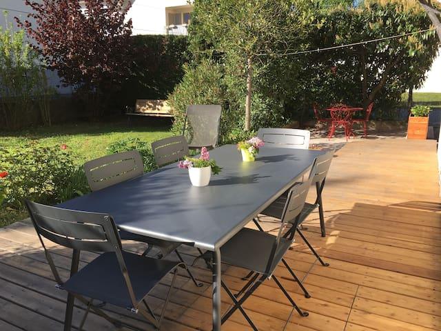 Appartement en rez de jardin - Annecy-le-Vieux - Wohnung