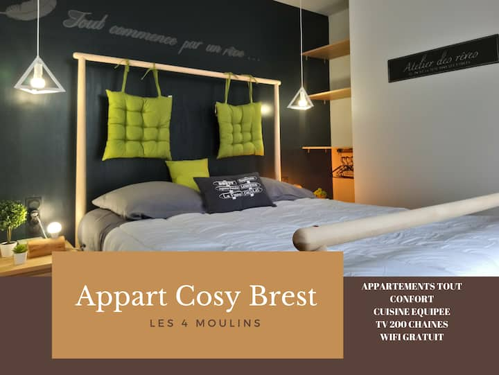 APPARTEMENT - COSY BREST 7