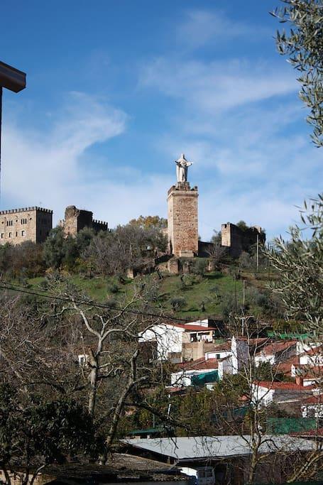Vistas al Castillo.