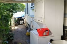 washer and dryer shared