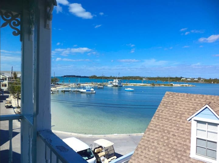 Green Turtle Cay, Bahamas, Water View 2/2 Condo,