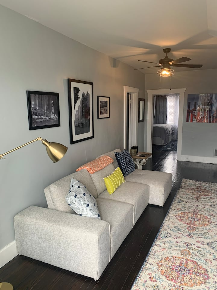 *Location* Close to all things Downtown Birmingham