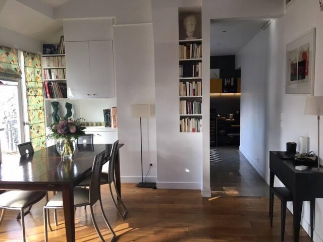 Appartement atypique en plein centre de Boulogne - Boulogne-Billancourt - Apartamento
