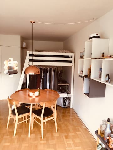 Lovely whole appartment in central Aarhus!