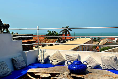 Amazing Apartment in Walled City - Cartagena - Pis