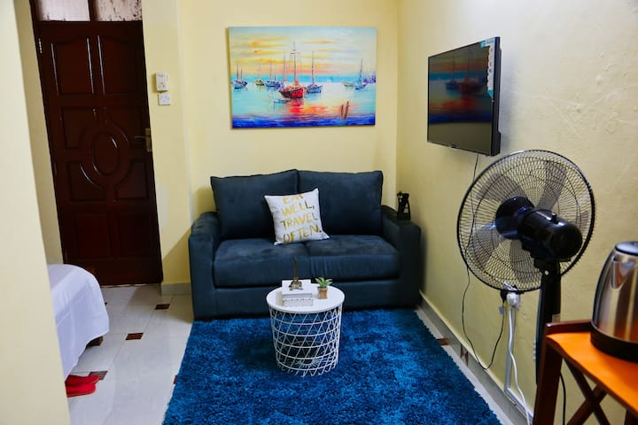 Nyali Studio 40-Beautiful space on a budget