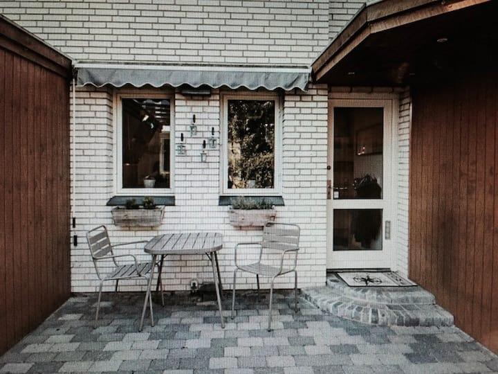 Cosy family house in green area near Copenhagen