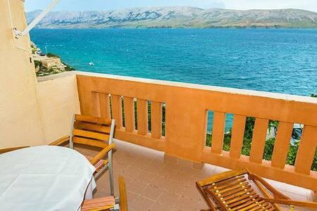 Apartments Tina Dražica - studio with sea view