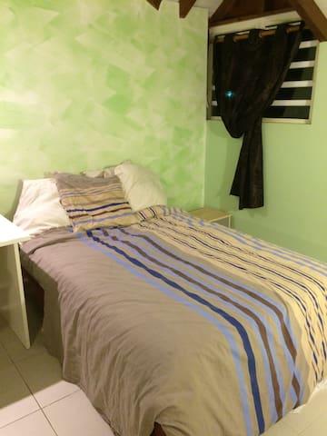 Chambre  climatisée tout confort - Gourbeyre