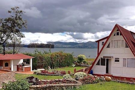 Cabaña Acacia 5 personas - Lago de Tota - Playa