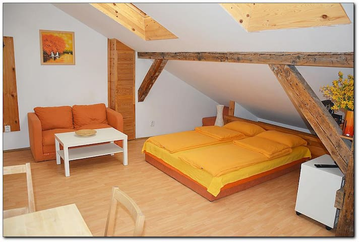 MACHEK´s apartments - romantic apartment Attic