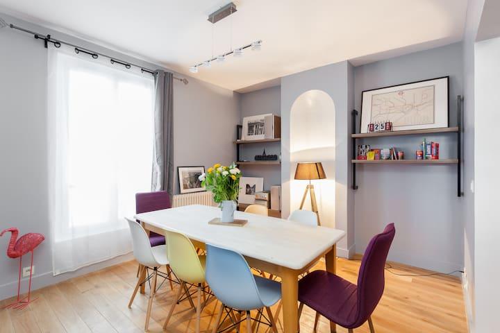 """Chambre  d'hôte """"Paris"""" - Montrouge - Bed & Breakfast"""