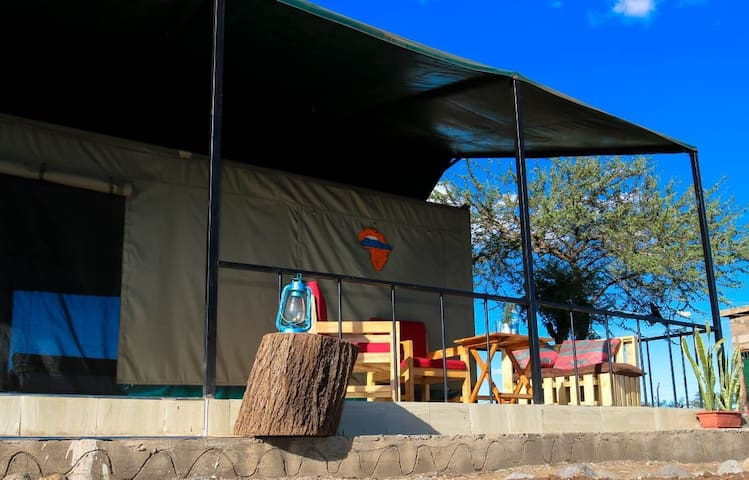 Mwanga Campsite lies at the foot of Mt Kilimanjaro
