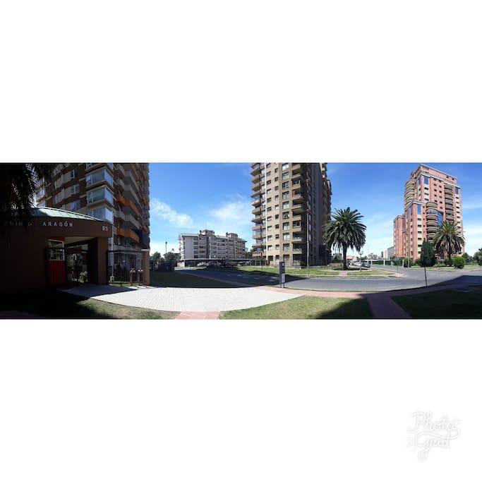 calle aragón con pucón
