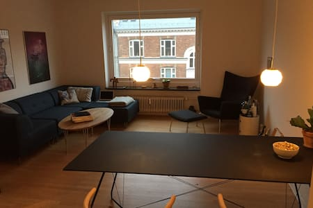 Entire apartment w/ central location and balcony! - Frederiksberg