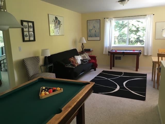 Clubhouse apartment on five acres - Poulsbo - Daire