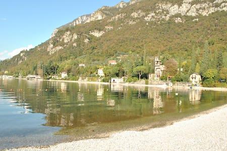 Residence White Beach Garden Front Lake - Lierna