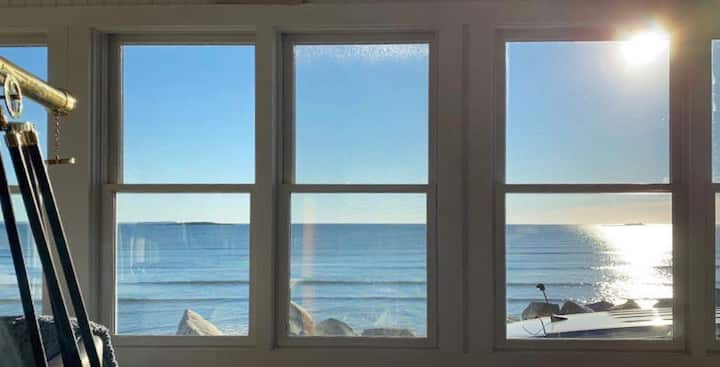 Oceanfront Family Home with the BEST view in ME!
