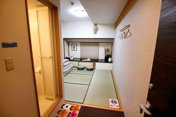 Guest House 168 Shinsaibashi Namba JP & Deluxe Rm