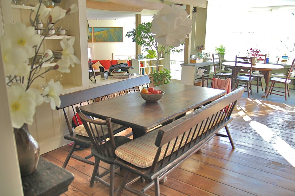 Dining Area with Kid's Table