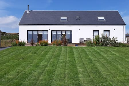 Modern home with sea views near Port Ellen