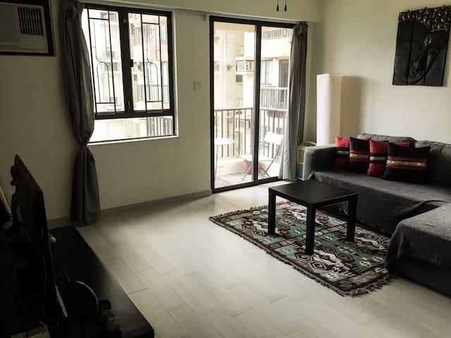 1 Bdrm apartment.2min walk to Plaza - Hong Kong - Apartamento