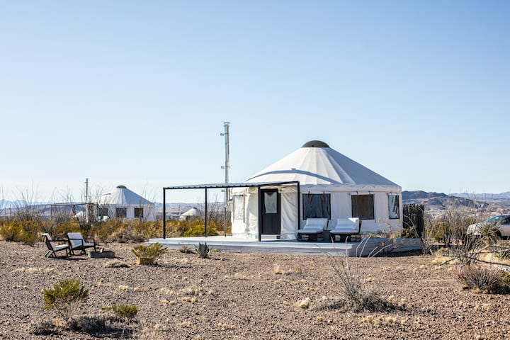 The Local Chapter Big Bend Luxury Yurt 2 New Yurts For Rent In Terlingua Texas United States Texas drivers, this is for you! the local chapter big bend luxury yurt