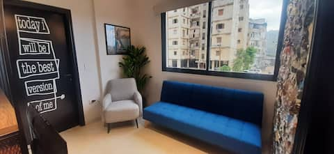 ★ Fouad's 1BR Apartment in Baouchrieh