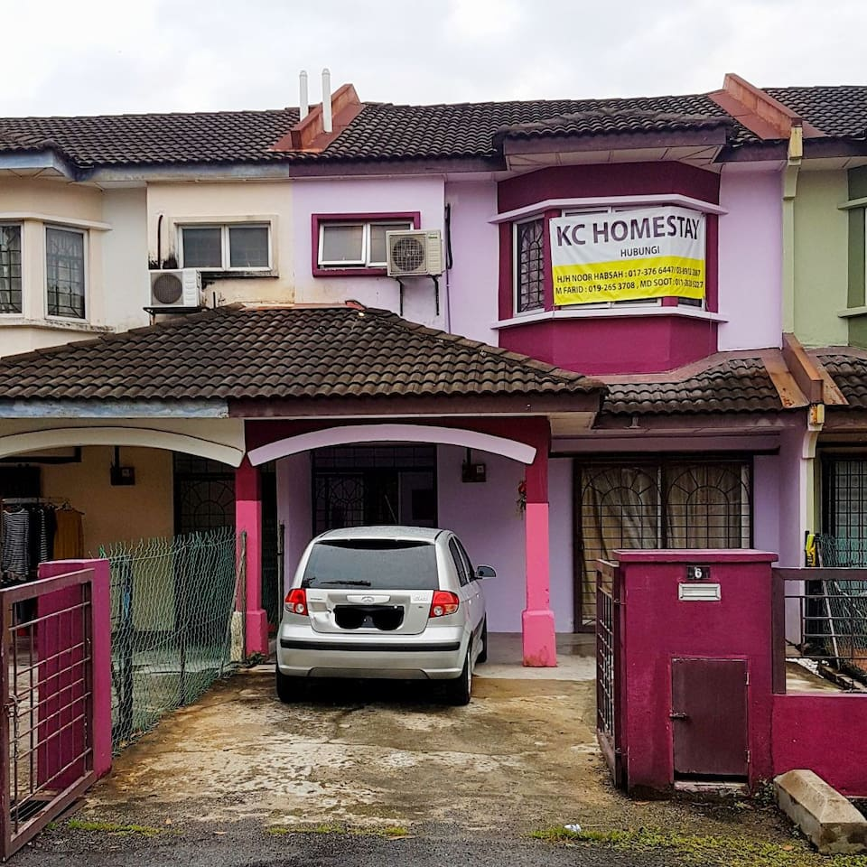 the Purple house is the homestay